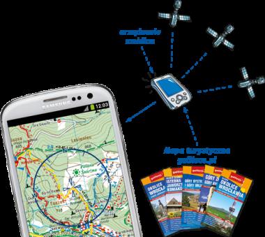 Mapy na komórki i tablety z Galileos.pl