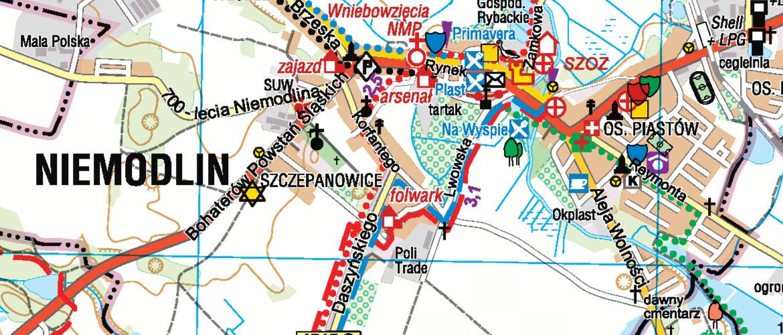 Okładka Mapa Gminy Niemodlin