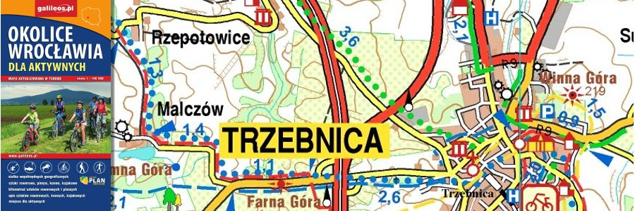 Okładka Okolice Wrocławia dla aktywnych – II 2017