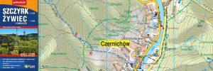 Powiązany artykuł: Mapa Szczyrk, Żywiec i okolice 1 : 25 000