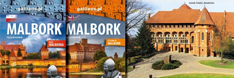 Okładka Malbork przewodnik