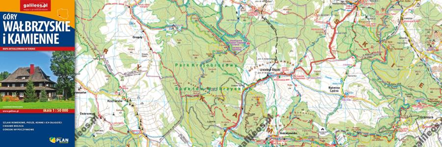 Okładka Góry Wałbrzyskie i Góry Kamienne
