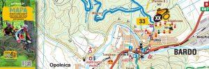 Powiązany artykuł: Mapa tras rowerowych MTB