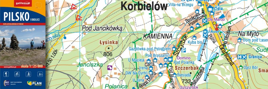 Okładka Pilsko i okolice