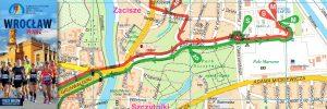 Powiązany artykuł: Wrocław MARATON plan miasta 2018