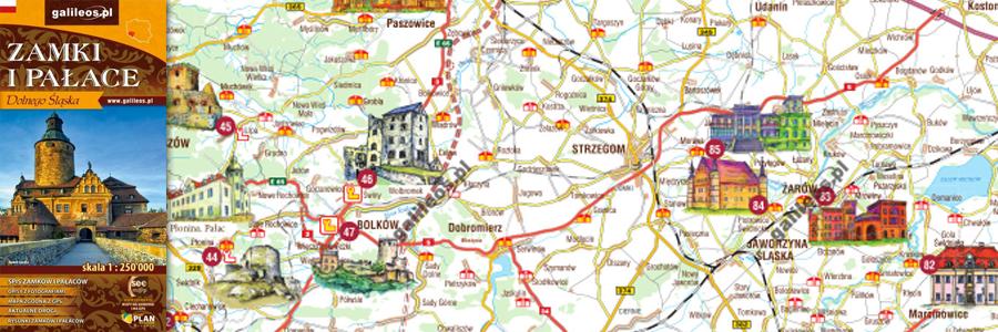 Okładka Zamki i pałace Dolnego Śląska